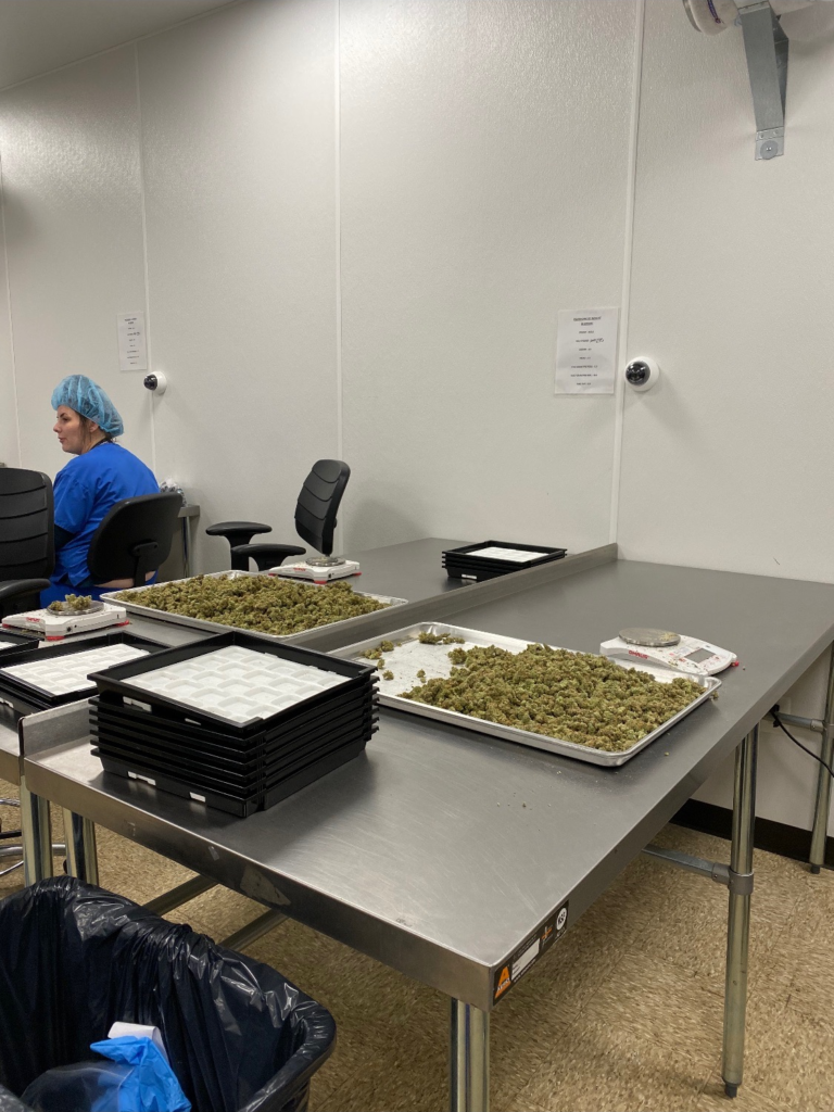 Security solutions for cannabis industry